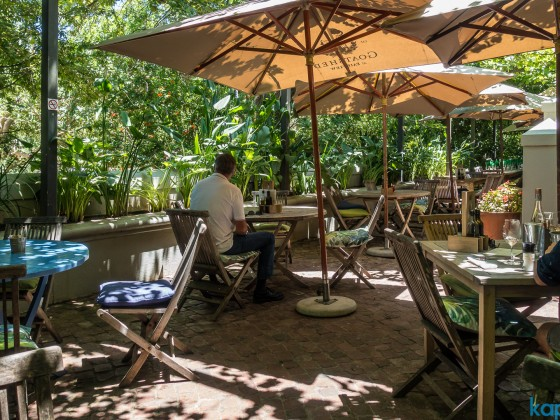 Fairview Wine Farm  in Paarl - Goatshed Restaurant