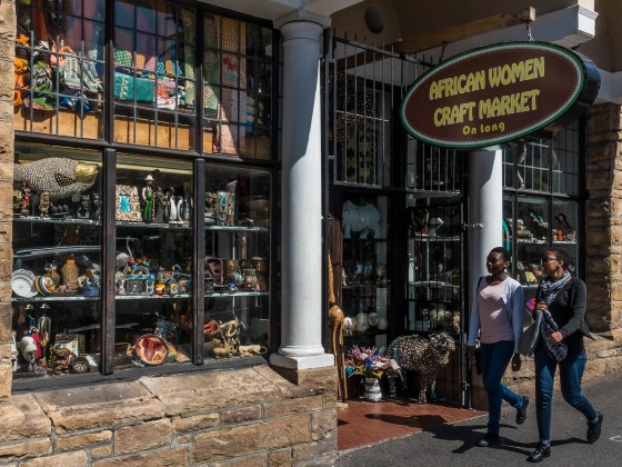 African Women Craft Market in Long Street