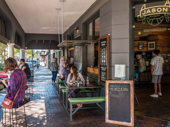 Jason Bakery in Bree Street in Cape Town