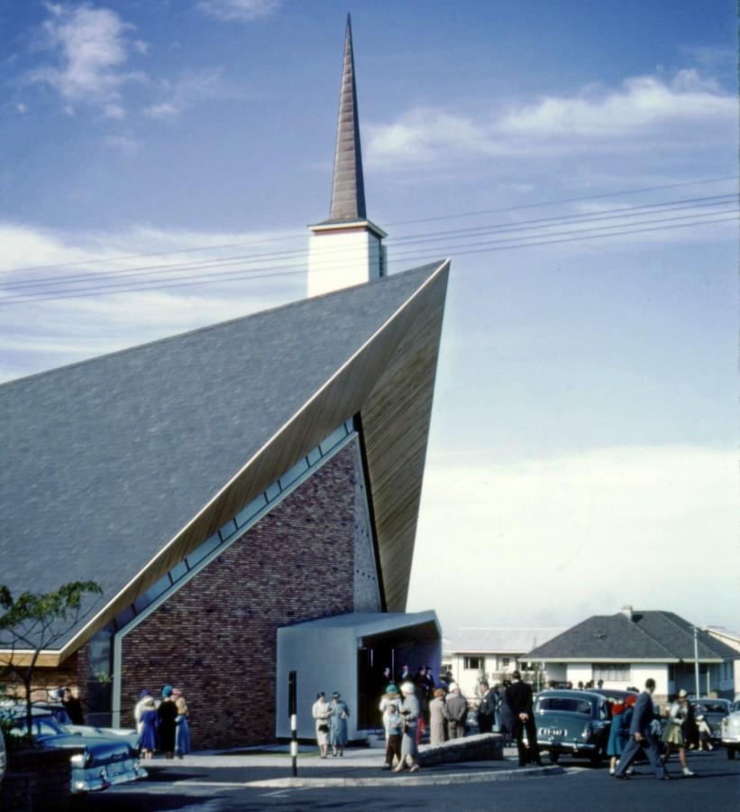 Sunday morning in Bellville 1959