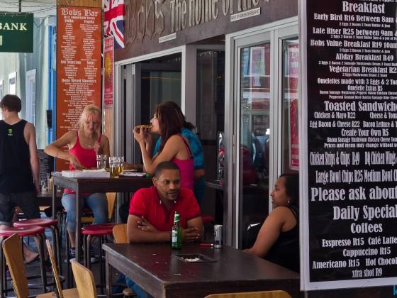 Bob's Bar in Long Street