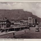 Postkarte Parade-Bus Terminus