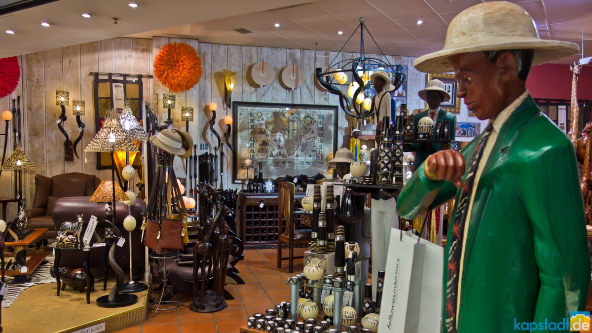 Souvenir shop at the V&A Waterfront