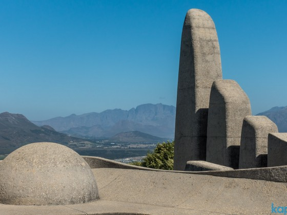 Afrikaanse Taal Monument in Paarl