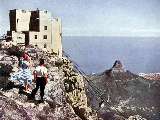 View from Table Mountain early fifties
