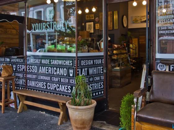 Coffee shop on Long Street