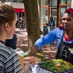 EarthFair Food Market in St Georges Mall