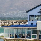 Harbour House Restaurant in Kalk Bay next to the sea