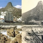 Saunders Rock 1900 and 1980