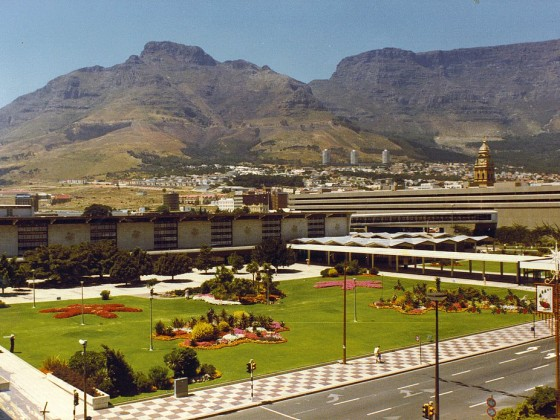 Cape Town Station 1980