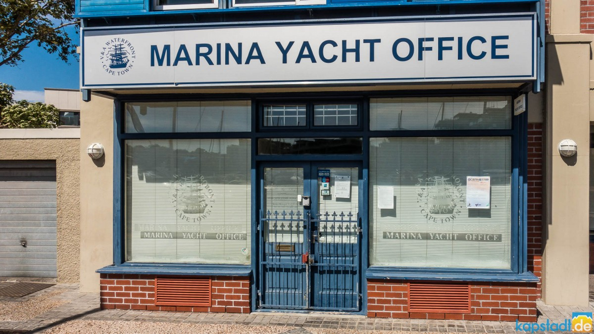 Marina Yacht Office at the V&A Waterfront