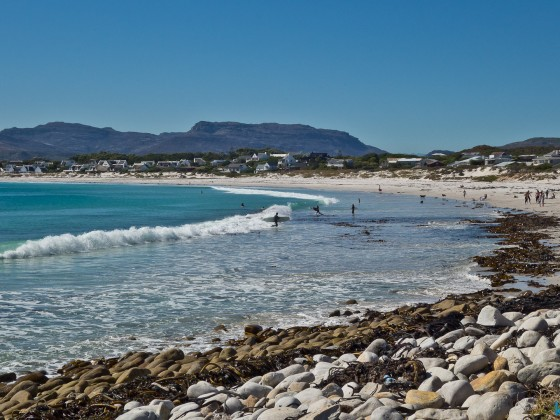 The beach of Kommetjie