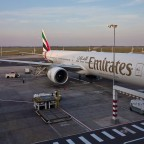 Emirates Airlines at Cape Town International