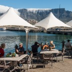 Outdoor Restaurant at the V&A Waterfront