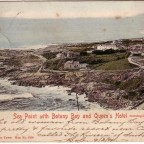 Postkarte Sea Point gelaufen 1904 von Kapstadt nach London