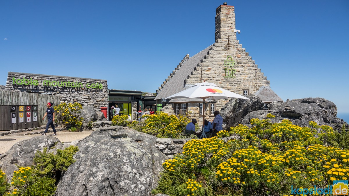 On top of Table Mountain: Table Mountain Cafe