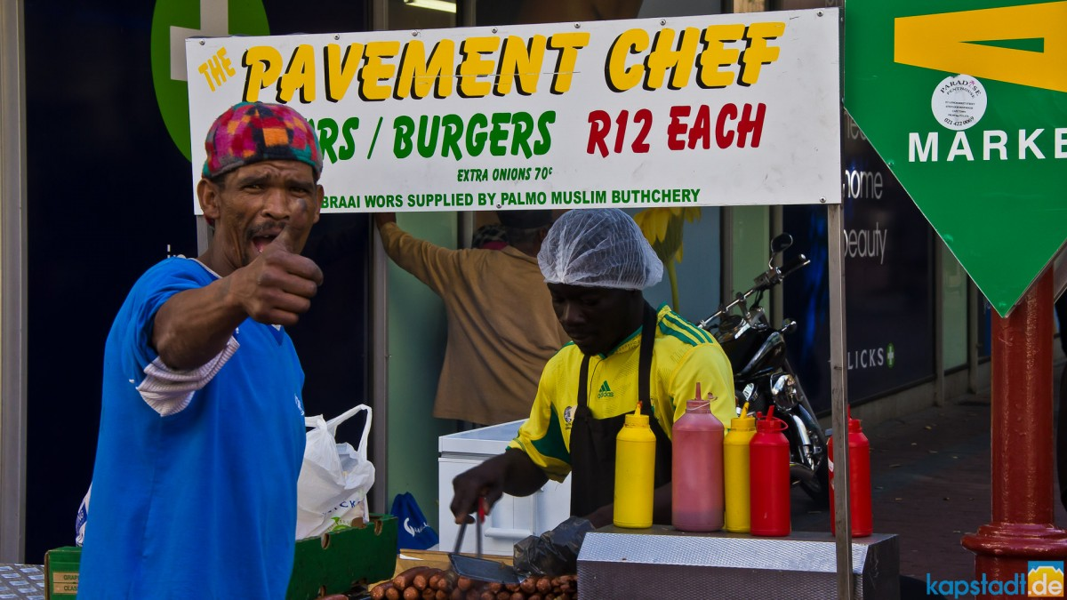 Pavement Chef - lekka boerewors roll