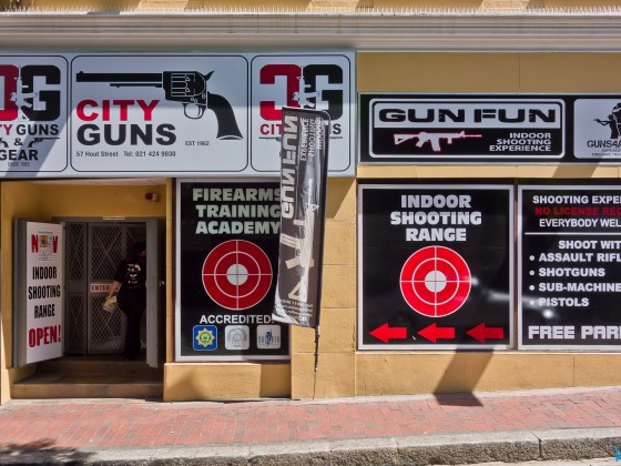 City Guns gun shop