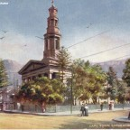 Postkarte Cape Town Cathedral um 1900