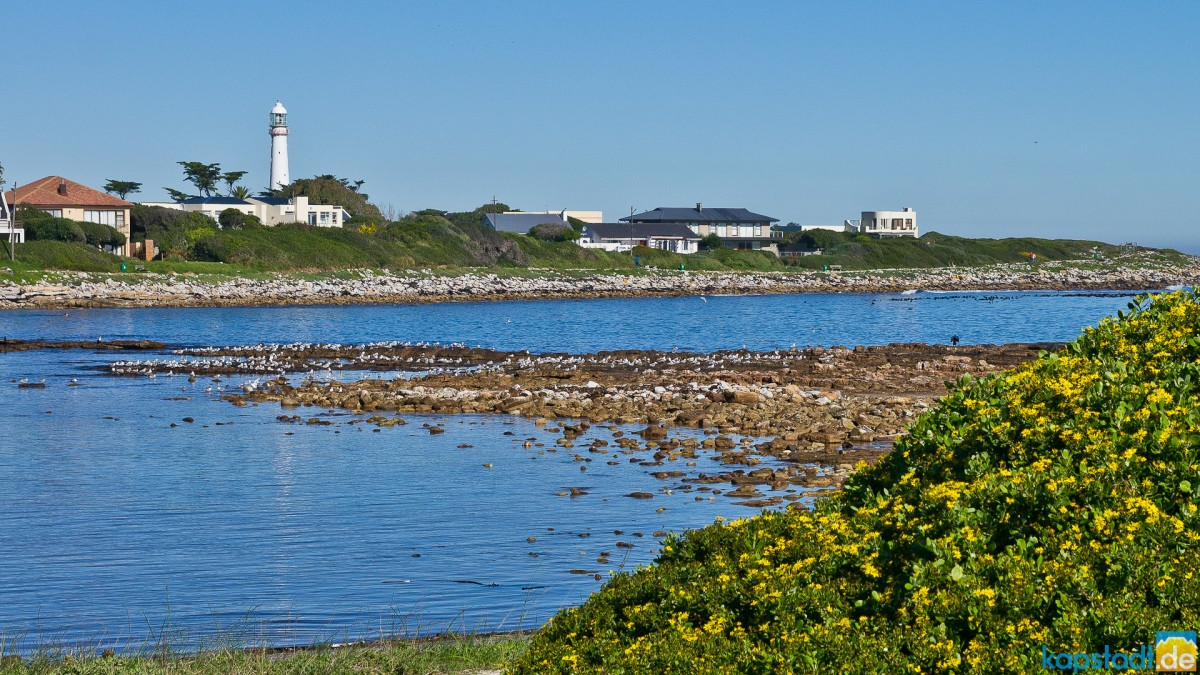 Slangkop Point lighthouse in Kommetjie