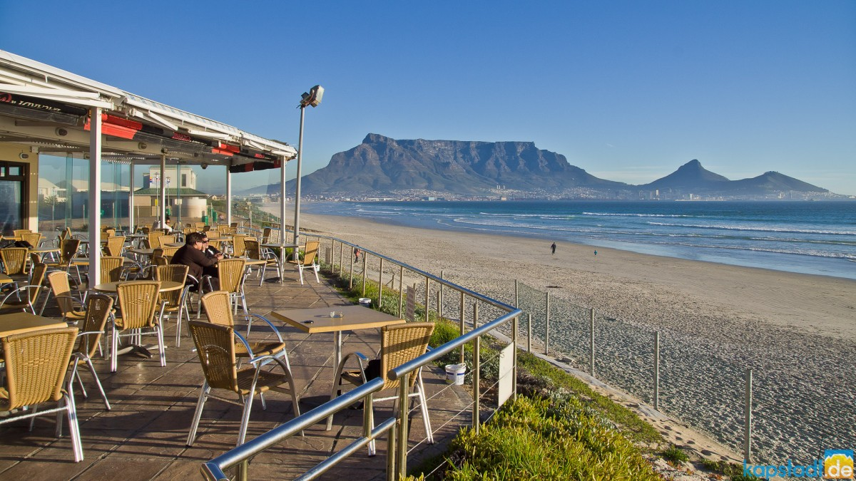 View from the Maestro Restaurant in Milnerton
