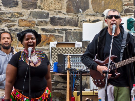 Entertainment at the Ferryman's Tavern at the V&A Waterfront