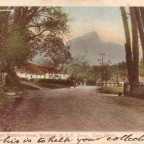 Postkarte Devils Peak from Waterloo Green - Wynberg