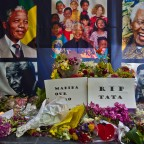 Memories to Nelson Mandela in St George's Cathedral