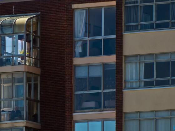 View of the Arnhem flat building in Milnerton