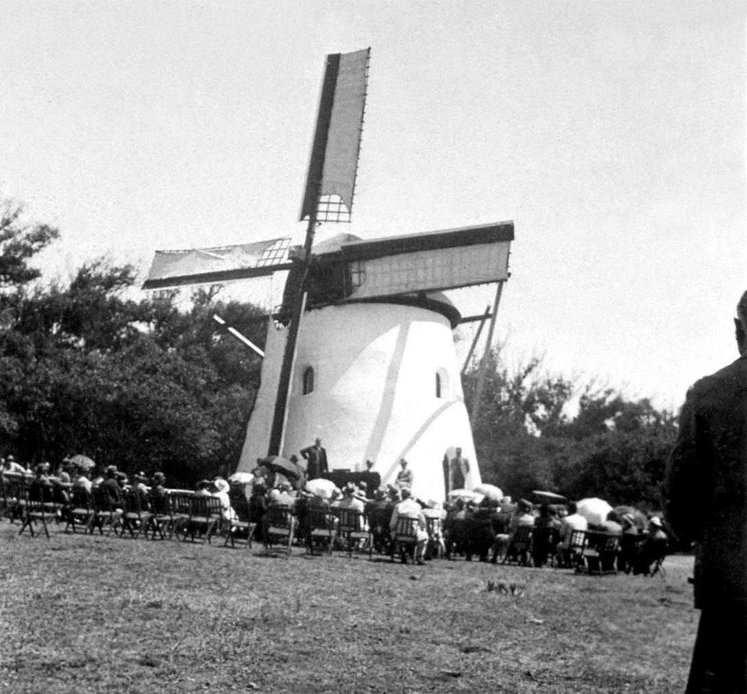 Restored Mostert's Mill 1936