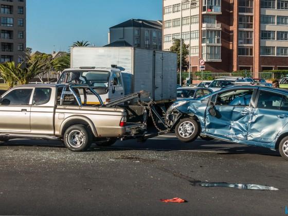 Accident in Milnerton (Cnr Loxton / R27)