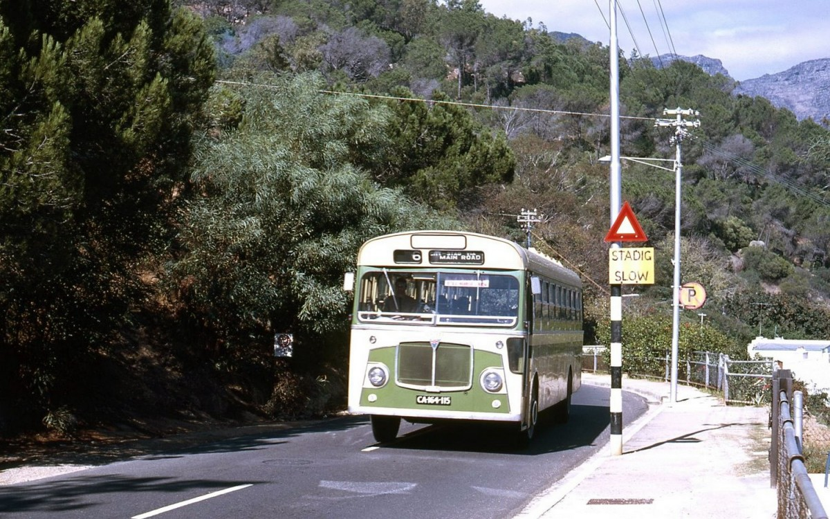 Kloof Rd. above Clifton 1969