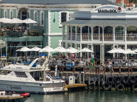MAReSOL Restaurant at the V&A Waterfront