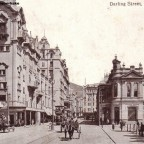 Postkarte Darling Street um 1910
