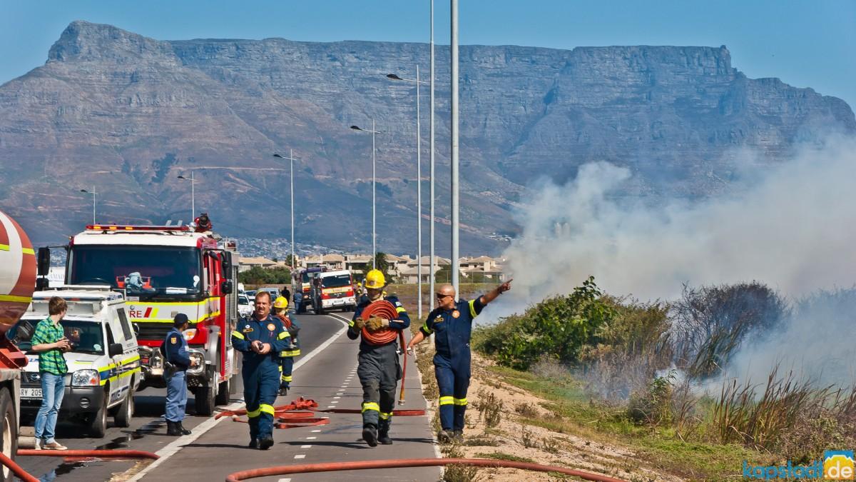 Field fire in Milnerton