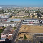 "Drone image taken by DJI Phantom: Construction of the ""Key West"" flat building in Milnerton"