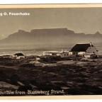 Postkarte Blaawberg Strand 1931