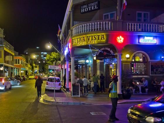 Buena Vista Social Cafe at night - Long Street
