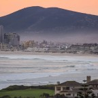 Milnerton gold course with Table View in the distance (Dolphin Beach to the right)