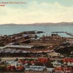 Postkarte The Docks from Signal Hill um 1900