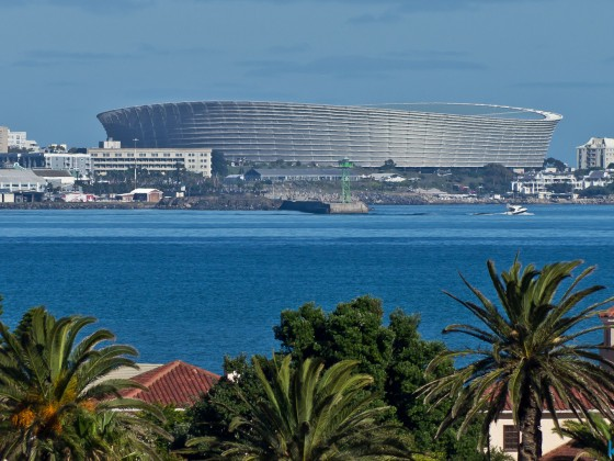 The 2010 Soccer Stadium in Green Point