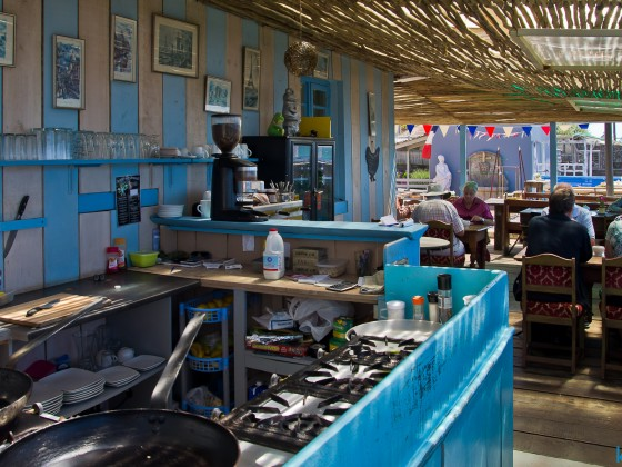 Coffee place on the main road of Kalk Bay