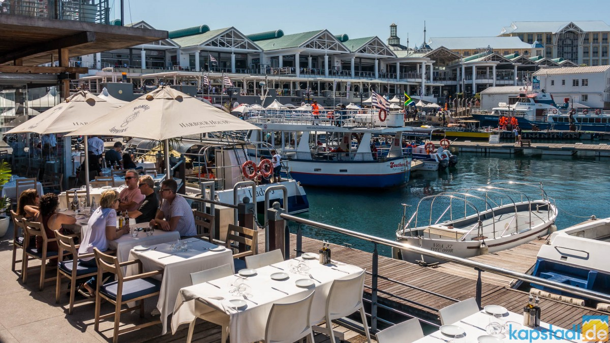 Harbour House Restautant at the V&A Waterfront
