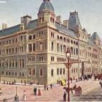 Postkarte General Post Office - Standart Bank and Adderley Street