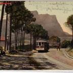 Postkarte Kloof Road gelaufen 1908 nach Cannstadt