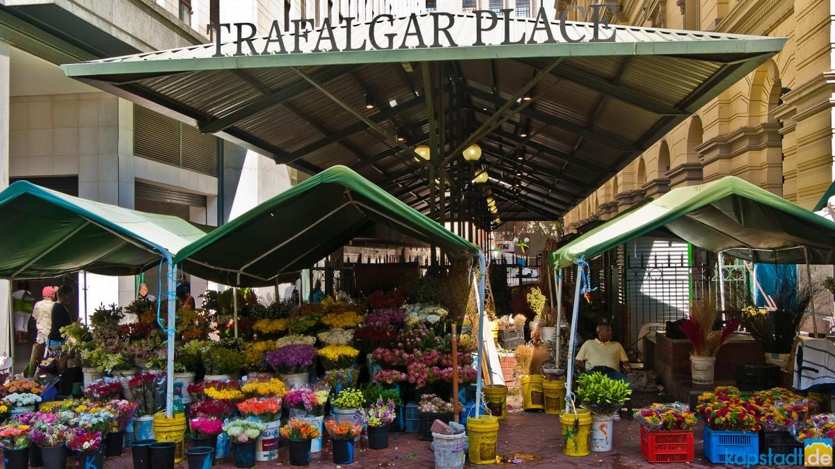 Trafalgar Place Flower Market
