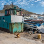 Commercial harbour of Hout Bay