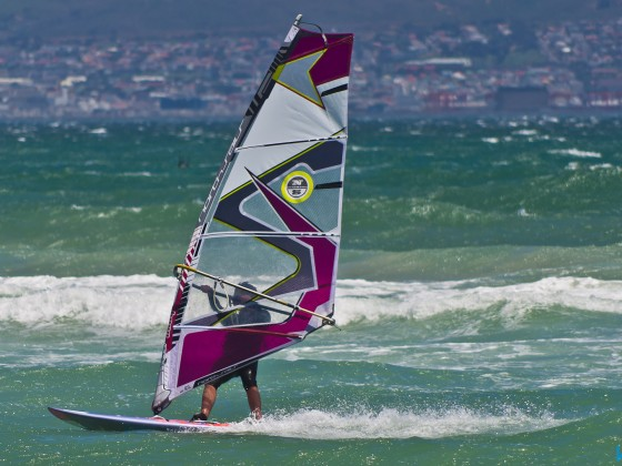 Windsurfer in Table View
