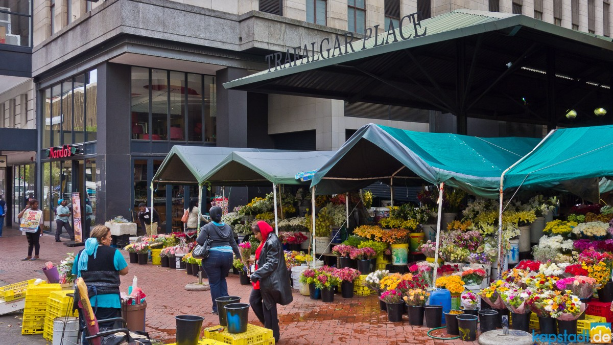 Flower Market at Adderley Street