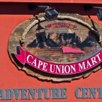 Images from the V&A Waterfront - Cape Union Mart logo